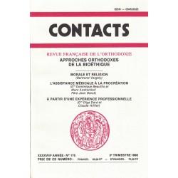 Contacts n° 175. 3° trimestre 1996