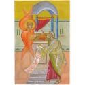 Carte de Noël grand modèle. La prophétie d'Isaïe.