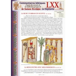 La ruse d'Abram en Egypte. Gn 12/9-20