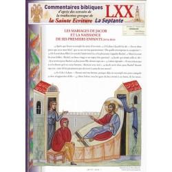 Les mariages de Jacob et la naissance de ses premiers enfants. Gn 29/14-30/24