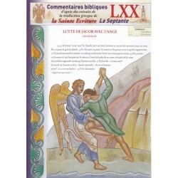 Lutte de Jacob avec l'ange. Gn 32/23-33