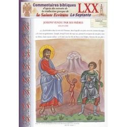 Joseph vendu par ses frères. Gn 37/1-36