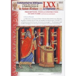 Prescriptions : Pour la construction du sanctuaire (suite). Ex 26/1-30/ extraits