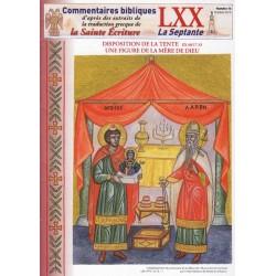 Disposition de la tente Ex 40/17-33. Une figure de la Mère de Dieu.