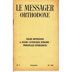 Le messager orthodoxe n° 7 Année 1959