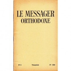Le messager orthodoxe n° 8 Année 1959
