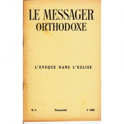 Le messager orthodoxe n° 9 Année 1960
