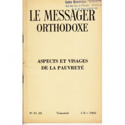 Le messager orthodoxe n° 21 Année 1963