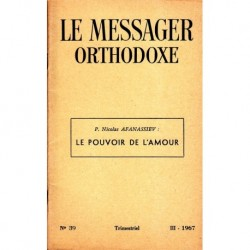 Le messager orthodoxe n° 39 Année 1967