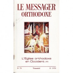 Le messager orthodoxe n° 79 Année 1978