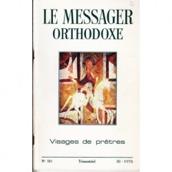 Le messager orthodoxe n° 80 Année 1978