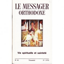 Le messager orthodoxe n° 81 Année 1978